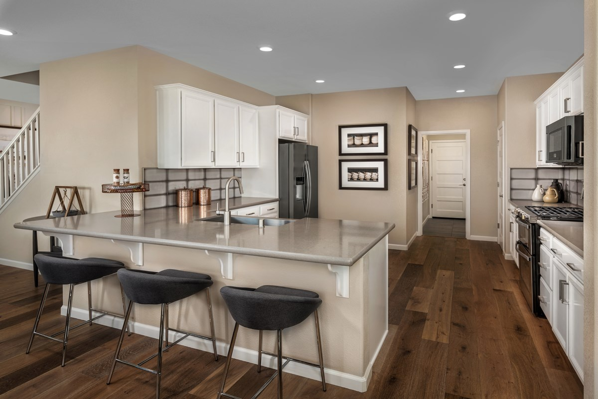 New Homes in Ceres, CA - Orchard Terrace Plan 2233 Kitchen