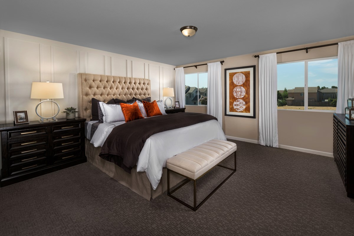 New Homes in Ceres, CA - Orchard Terrace Plan 2233 Master Bedroom