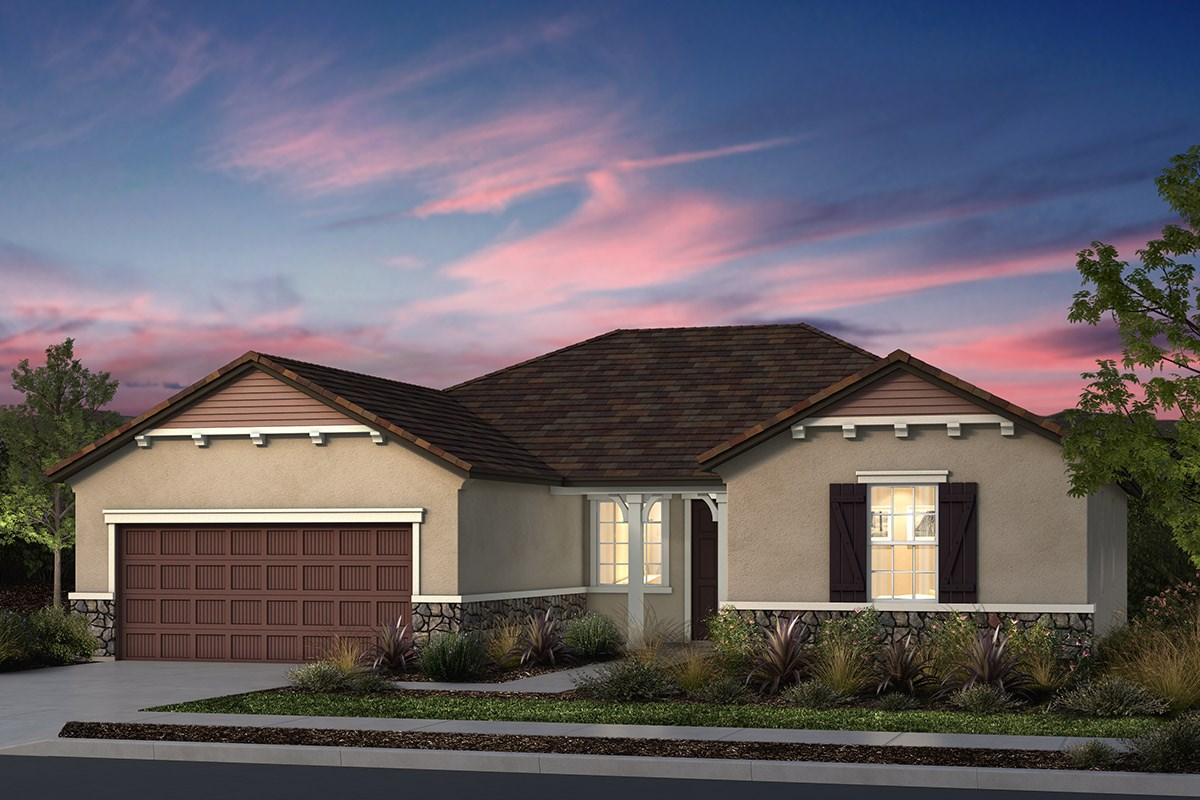 New Homes in Manteca, CA - Palermo Estates Plan 1996 D