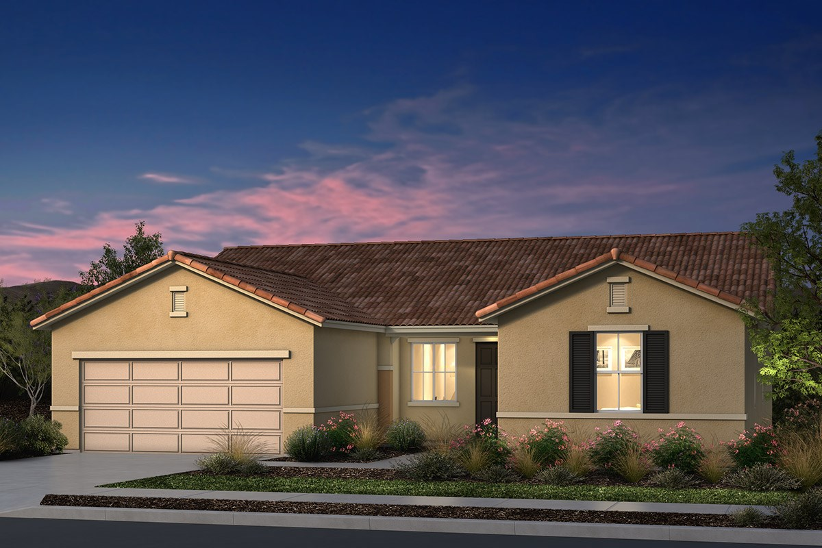 New Homes in Manteca, CA - Palermo Estates Plan 1996 E