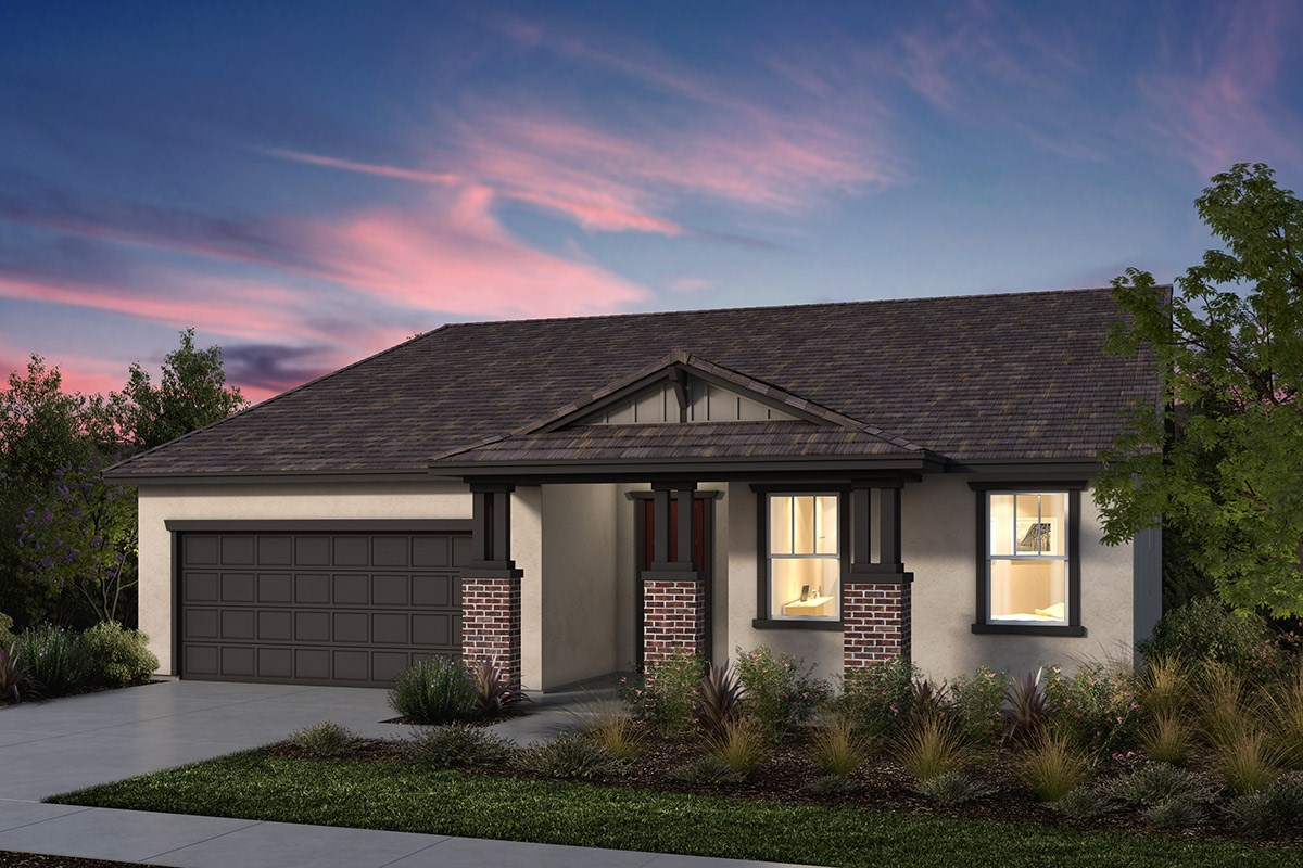 New Homes in Manteca, CA - Palermo Estates Plan 2354 B