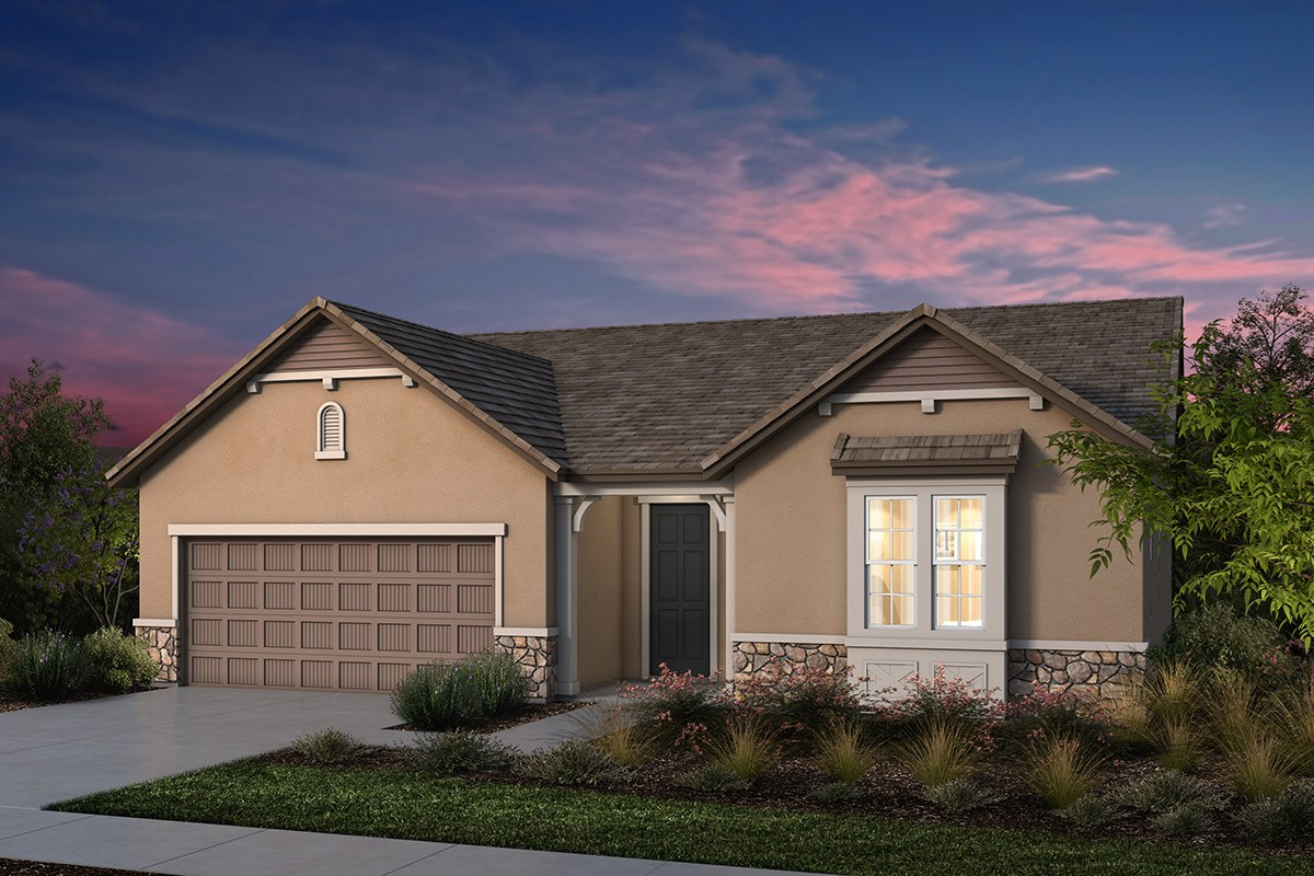 New Homes in Manteca, CA - Palermo Estates Plan 2354 D