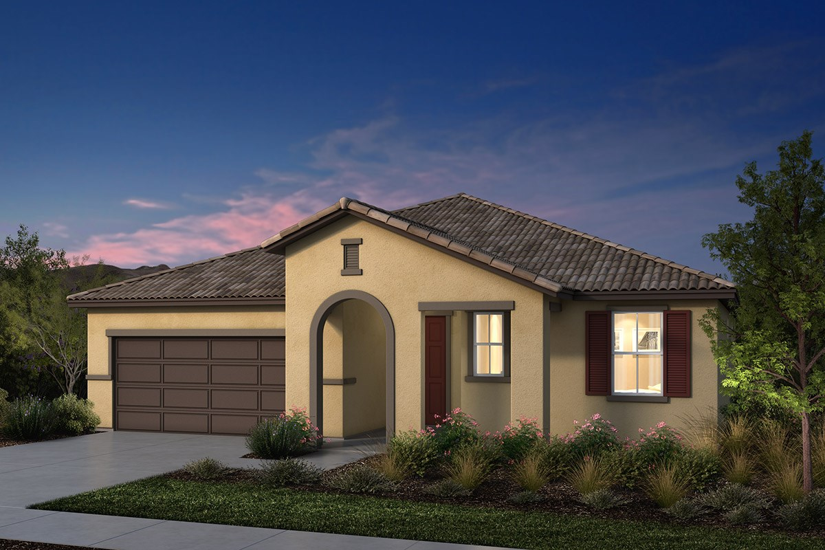 New Homes in Manteca, CA - Palermo Estates Plan 2354 E