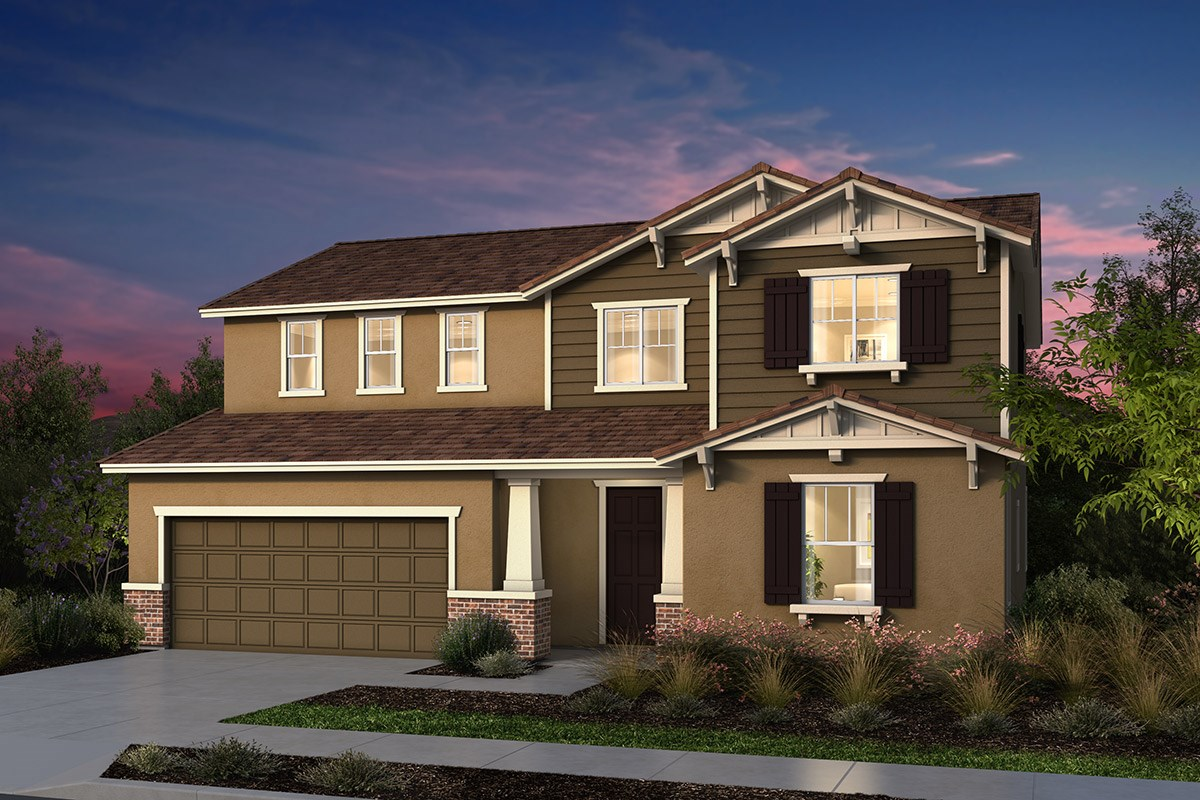 New Homes in Manteca, CA - Palermo Estates Plan 2597 B