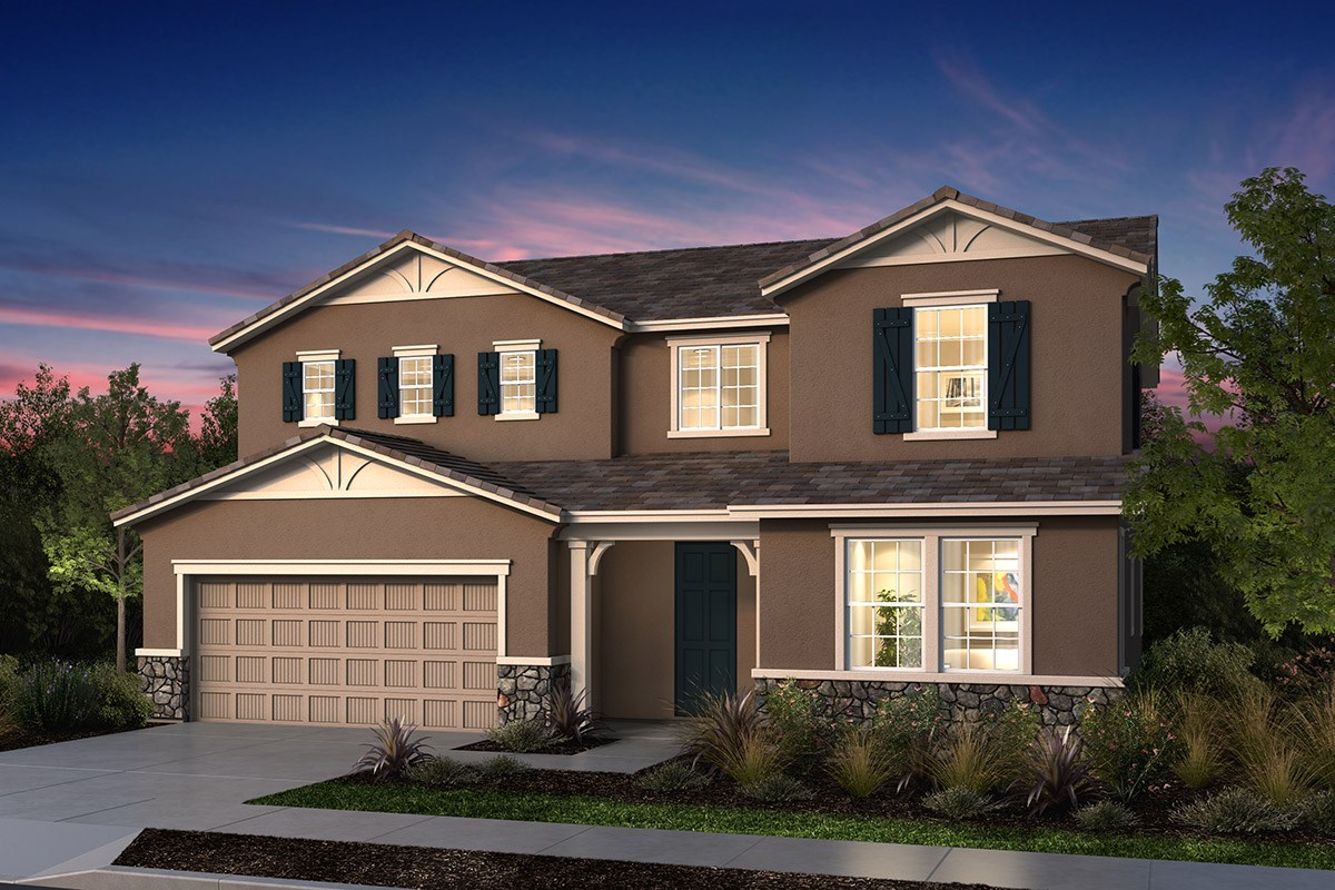 New Homes in Manteca, CA - Palermo Estates Plan 2597 D