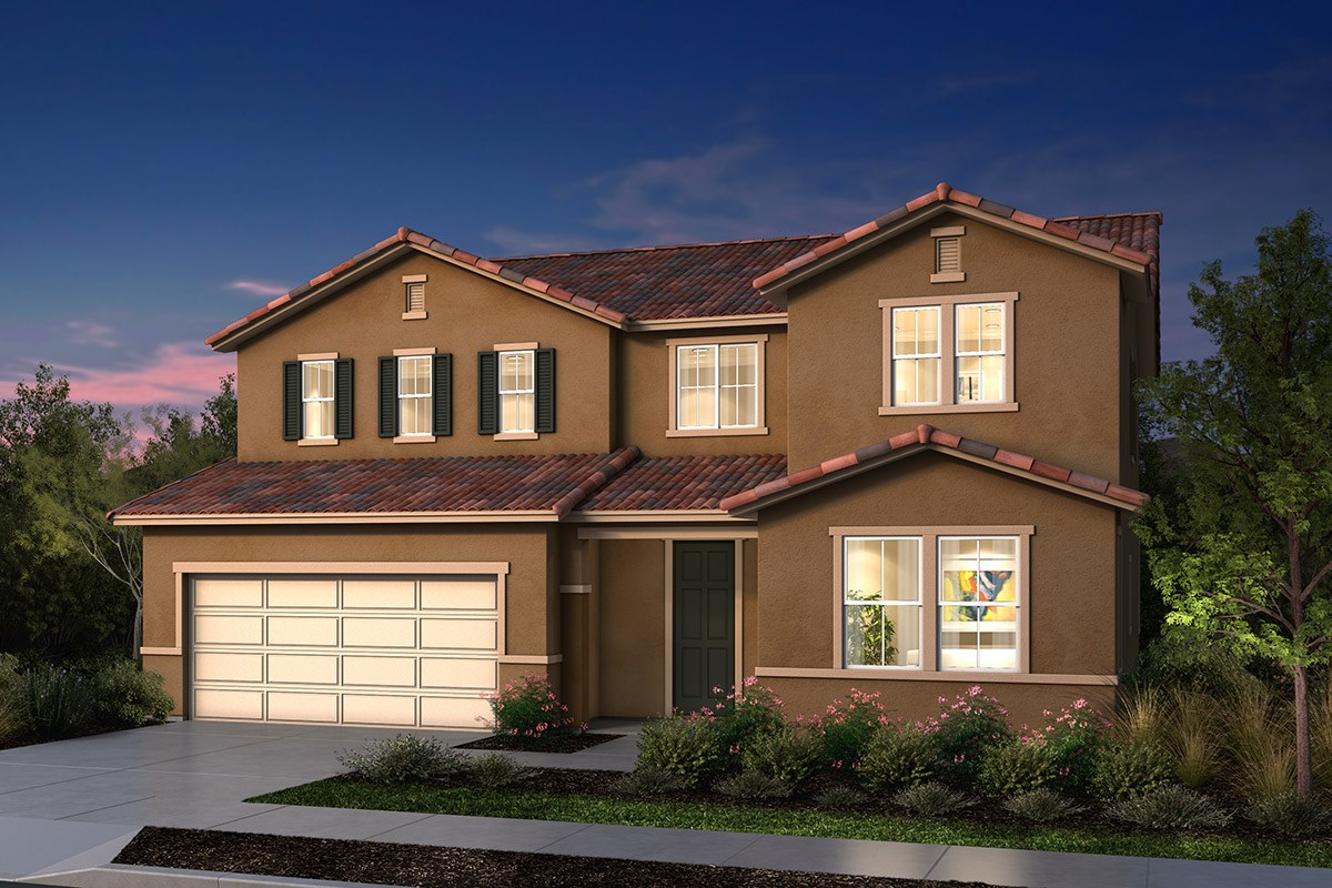 New Homes in Manteca, CA - Palermo Estates Plan 2597 E