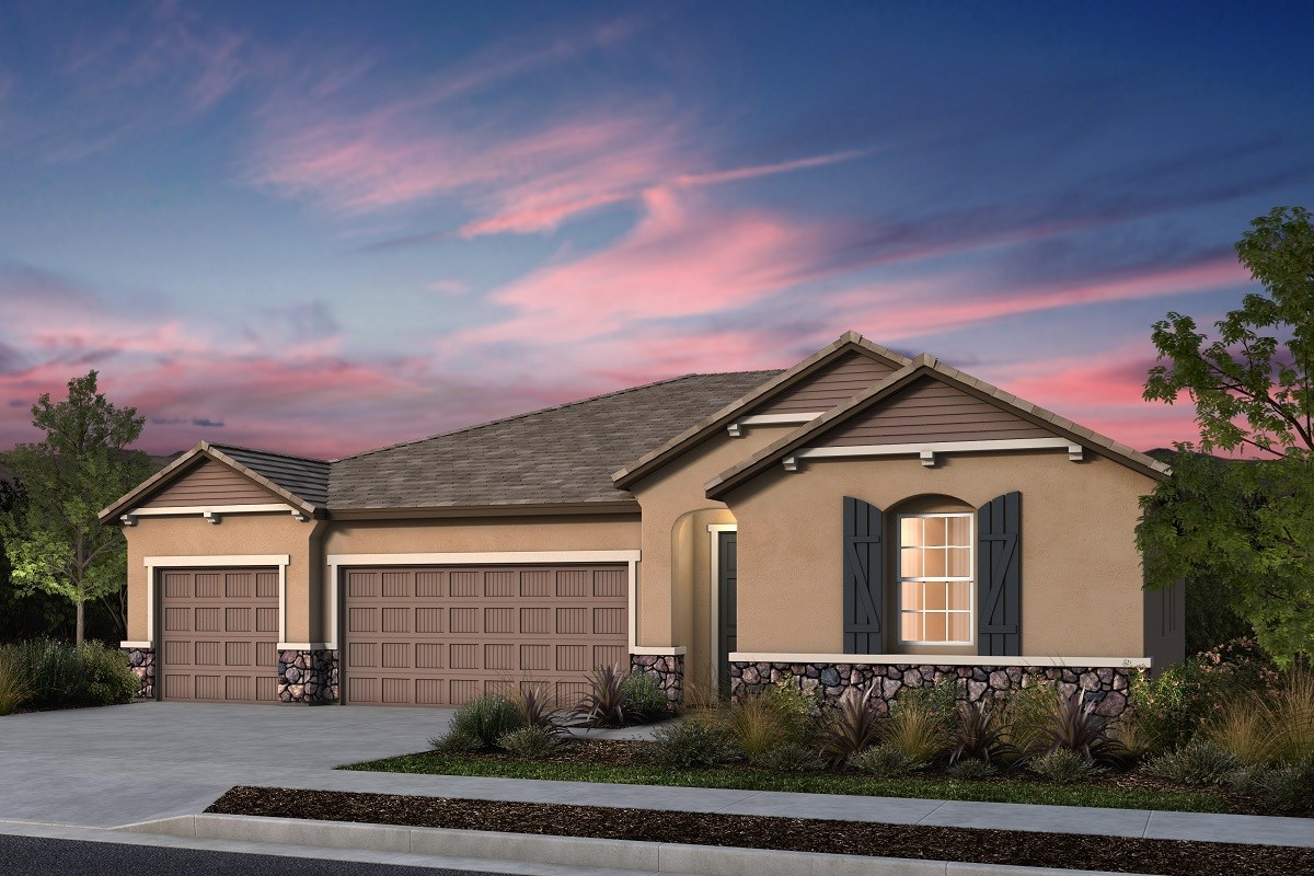 New Homes in Manteca, CA - Palermo Estates Plan 2661 D