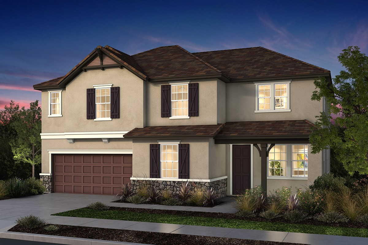 New Homes in Manteca, CA - Palermo Estates Plan 3105 D