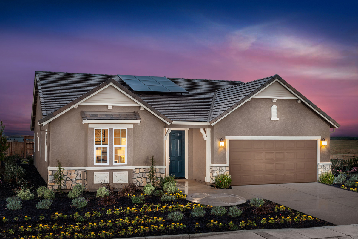 New Homes in Manteca CA Palermo