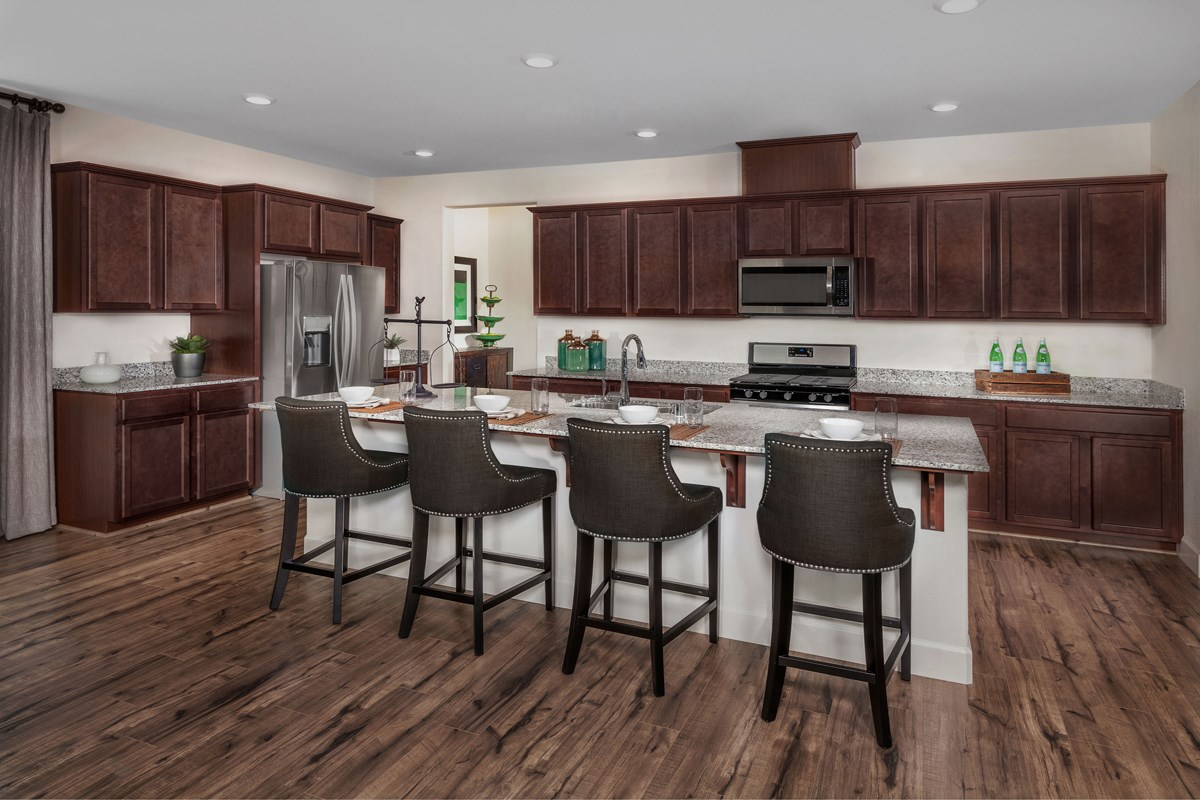 New Homes in Manteca, CA - Palermo Estates Plan 2354 Kitchen