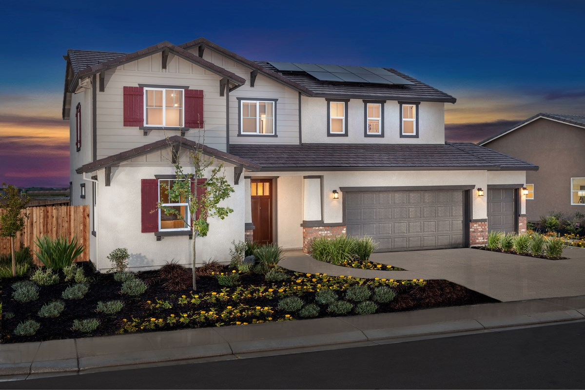 New Homes in Manteca, CA - Palermo Estates Plan 2597
