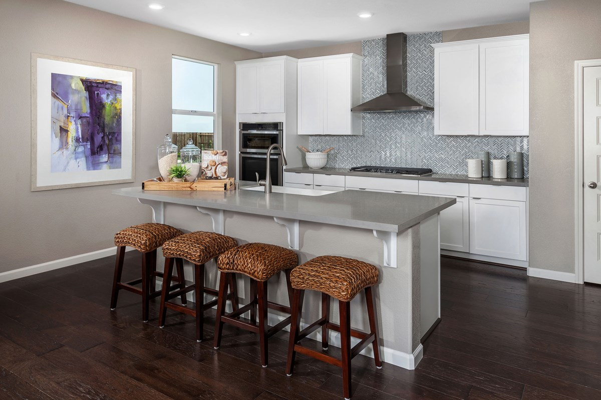 New Homes in Manteca, CA - Palermo Estates Plan 2597 Kitchen