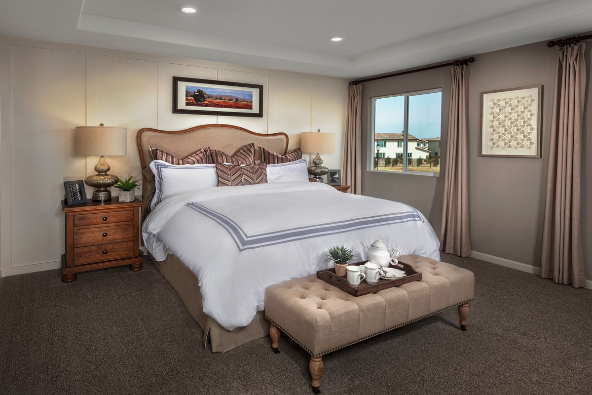New Homes in Manteca, CA - Palermo Estates Plan 2597 Master Bedroom