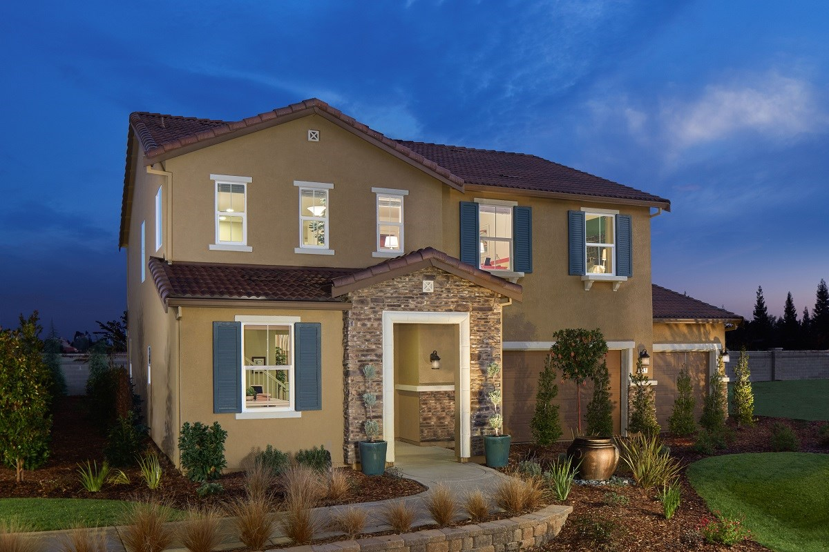 New Homes in Galt, CA - Parker Creek The Brecher - Tuscan