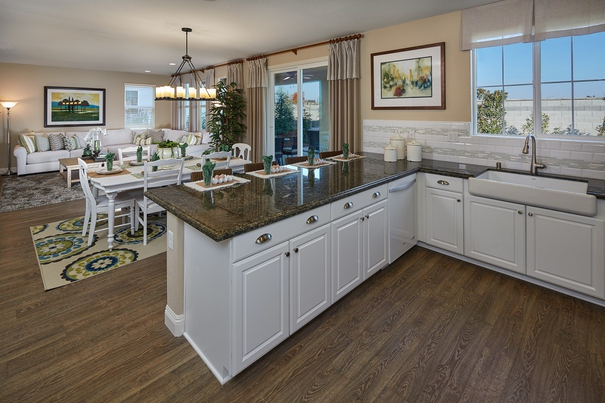 New Homes in Galt, CA - Parker Creek The Brecher - Kitchen