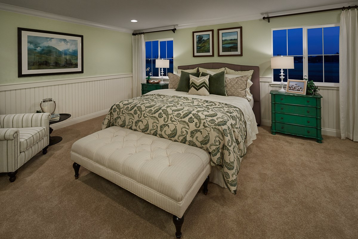New Homes in Galt, CA - Parker Creek The Brecher - Master Bedroom