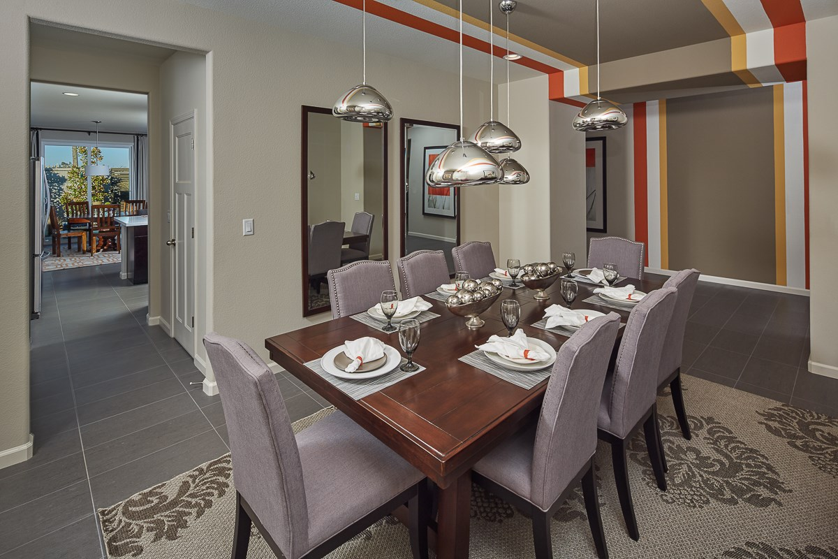 New Homes in Galt, CA - Parker Creek The Marlow - Dining