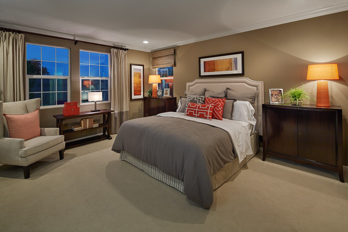 New Homes in Galt, CA - Parker Creek The Marlow - Master Bedroom