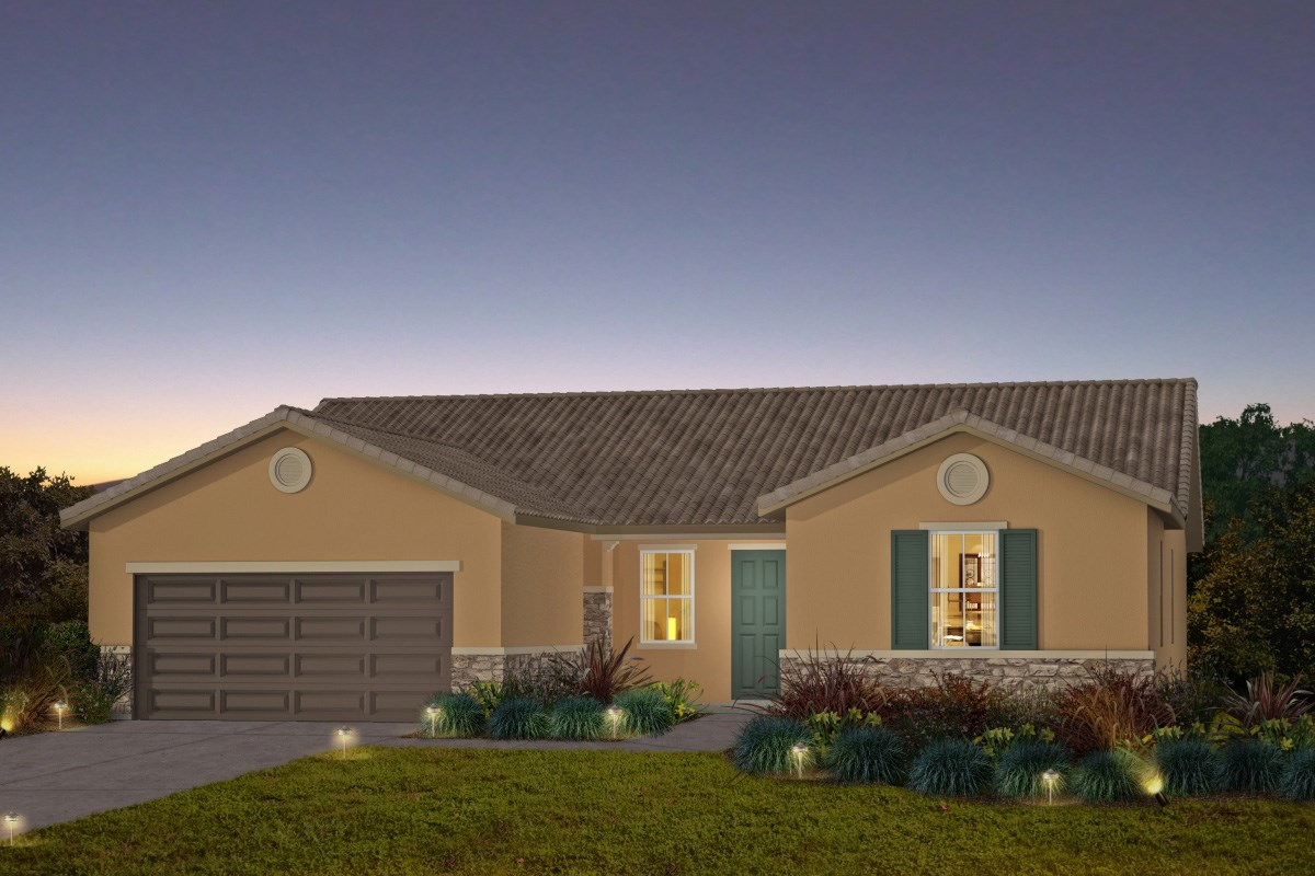 New Homes in Galt, CA - Parker Creek The Brianna - Tuscan