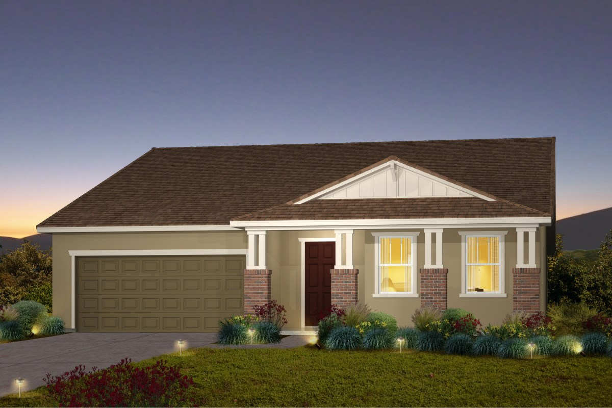 New Homes in Galt, CA - Parker Creek The Marlow - Craftsman