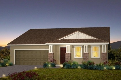 New Homes in Galt, CA - The Marlow - Craftsman