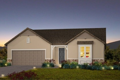 New Homes in Galt, CA - The Marlow - French Country