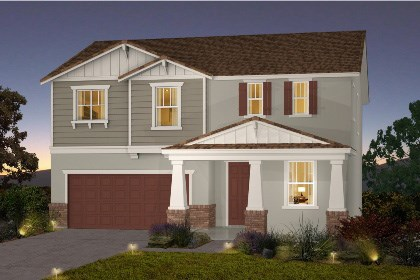 New Homes in Galt, CA - The Brecher - Craftsman