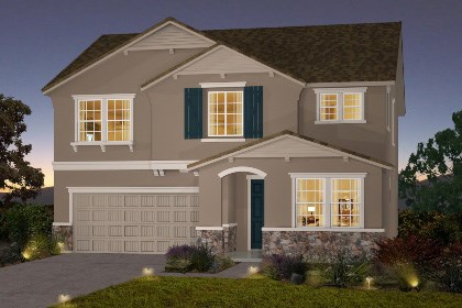 New Homes in Galt, CA - The Brecher - French Cottage