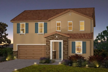 New Homes in Galt, CA - The Brecher - Tuscan