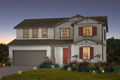 New Homes in Galt, CA - The Derby - Craftsman