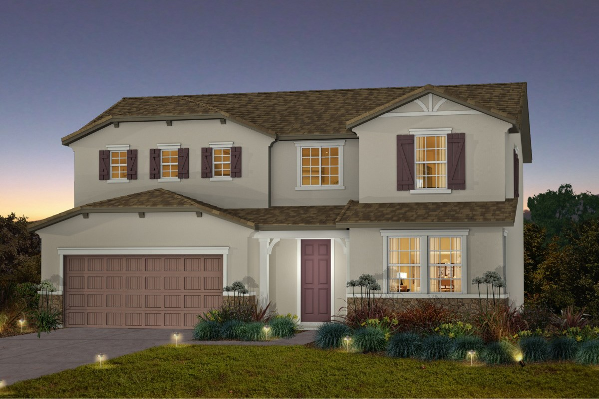 New Homes in Galt, CA - Parker Creek The Derby - French Country