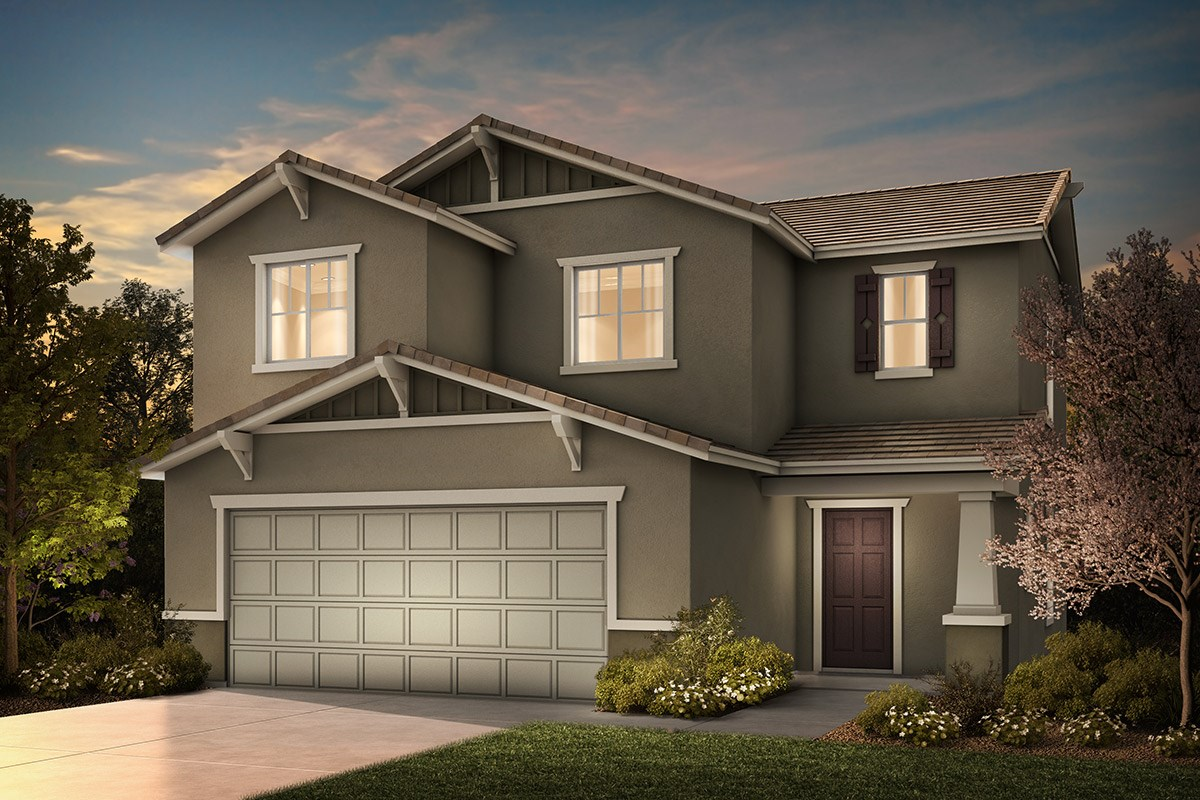 New Homes in Rocklin, CA - Pebble Creek Plan 1558 B