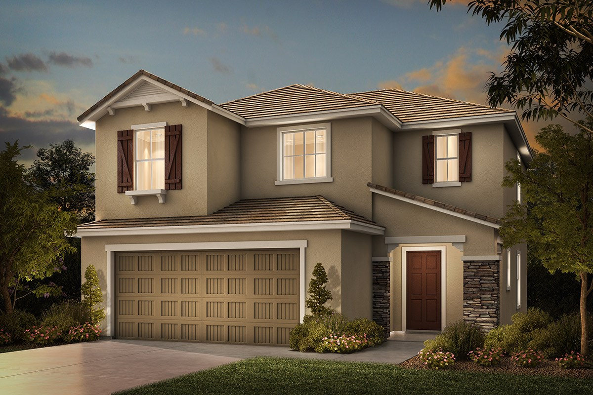 New Homes in Rocklin, CA - Pebble Creek Plan 1558 D