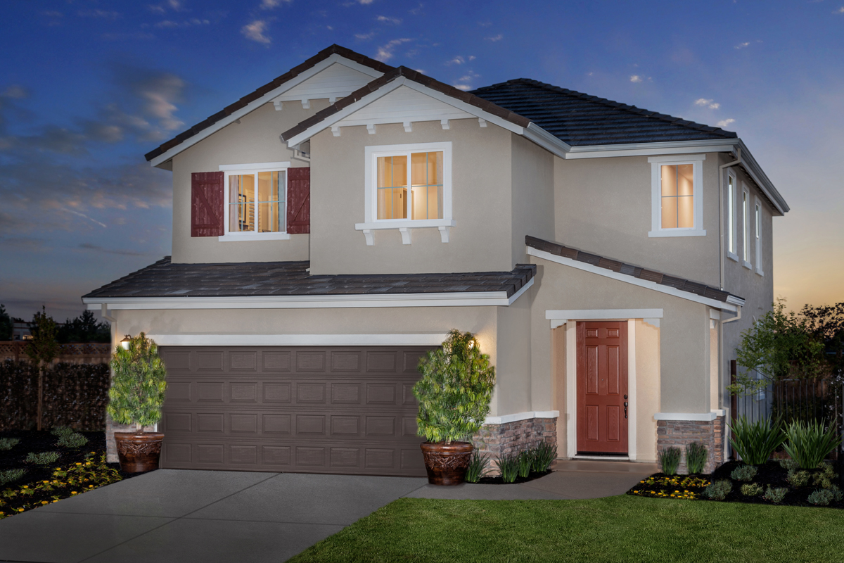 New Homes In Rocklin, CA   Pebble Creek Plan 1816 Exterior