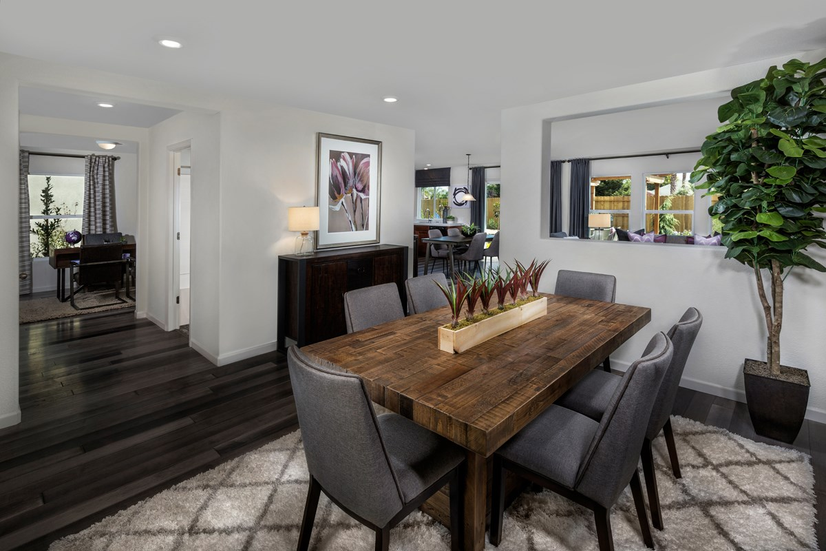 New Homes in Live Oak, CA - Pennington Ranch Dining Room