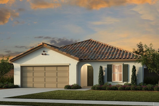 New Homes in Live Oak, CA - Plan 1718 A Rendering