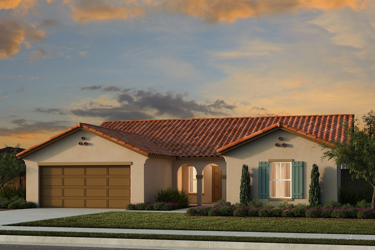 New Homes in Live Oak, CA - Pennington Ranch Plan 1996 A