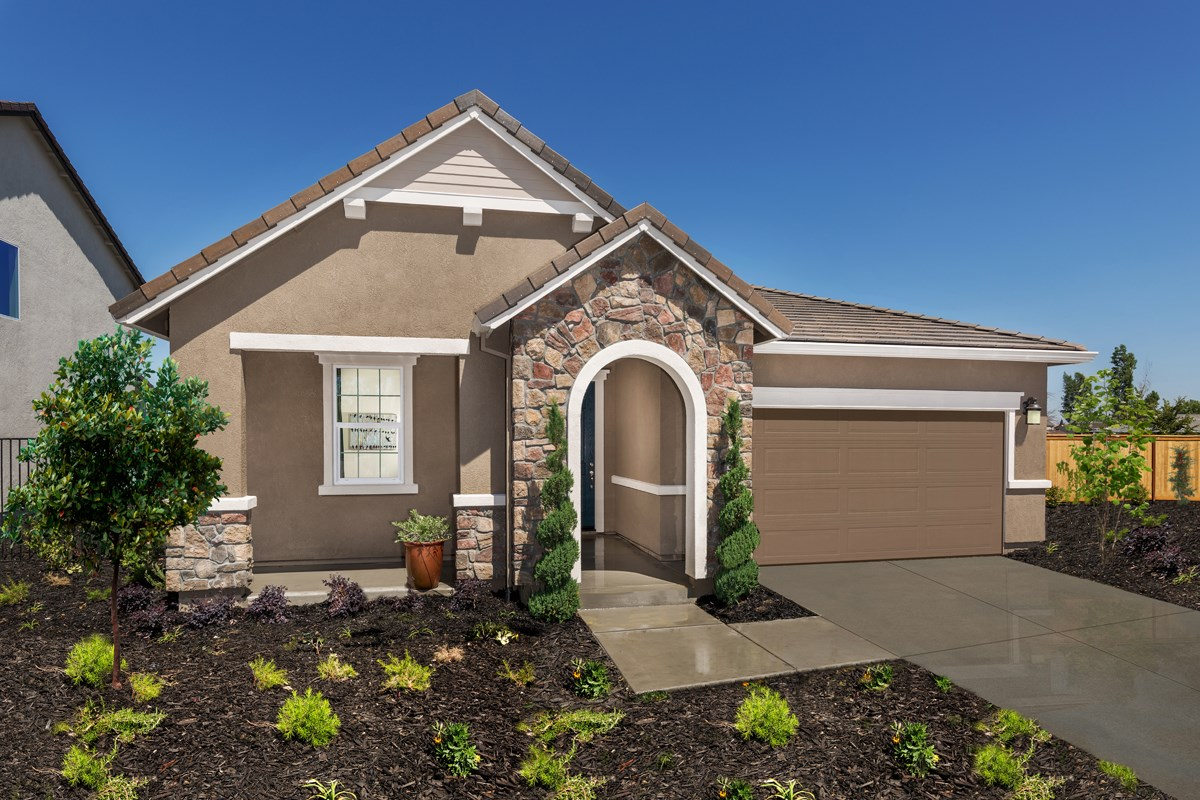 New Homes in Sacramento, CA - Shasta Ridge Plan 1718 Exterior