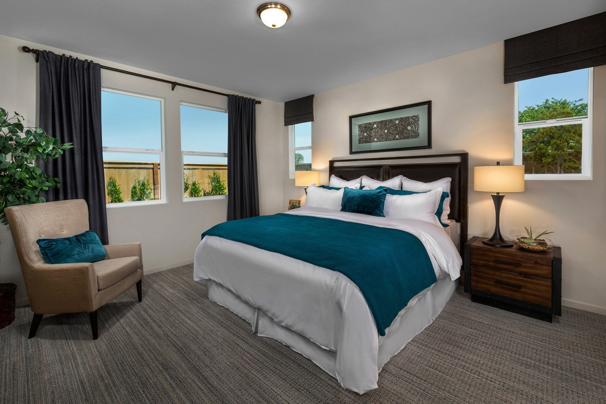New Homes in Sacramento, CA - Shasta Ridge Plan 1718 Master Bedroom