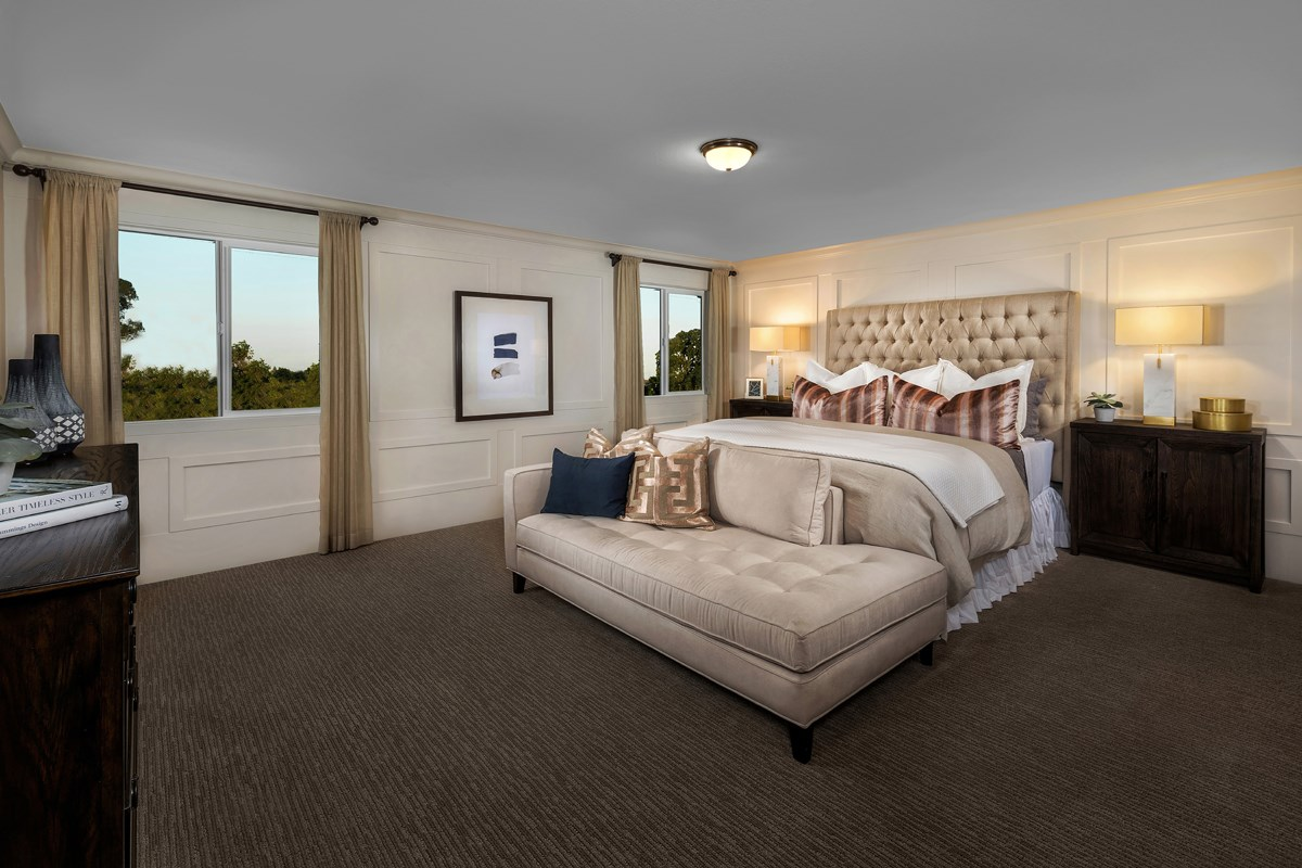New Homes in Sacramento, CA - Shasta Ridge Plan 2376 Master Bedroom