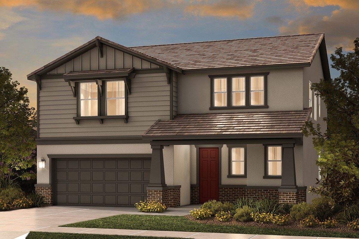 New Homes in Sacramento, CA - Shasta Ridge Plan 2137 B