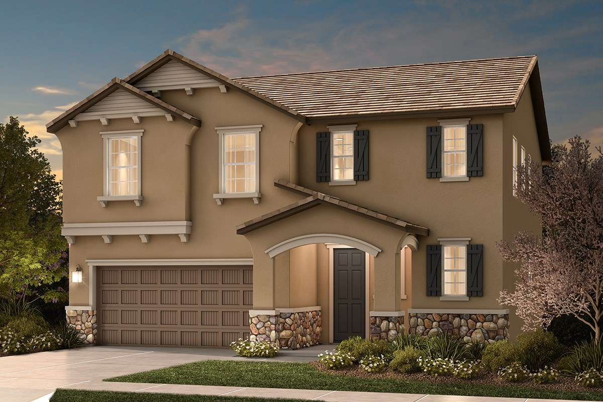 New Homes in Sacramento, CA - Shasta Ridge Plan 2137 D