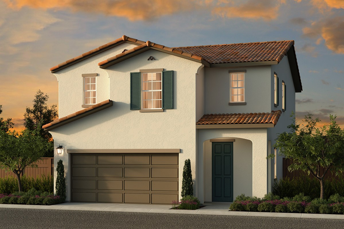 New Homes in Elk Grove, CA - Sheldon Terrace Plan 1580 A