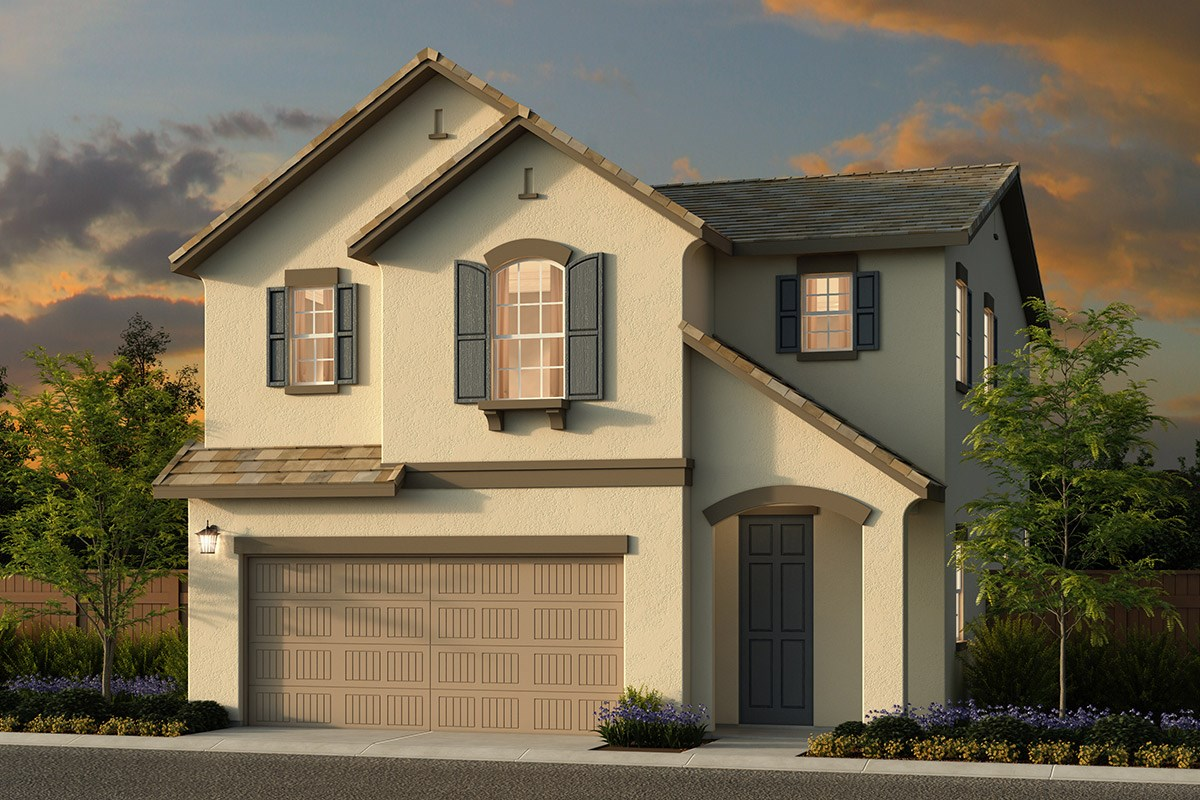 New Homes in Elk Grove, CA - Sheldon Terrace Plan 1580 D
