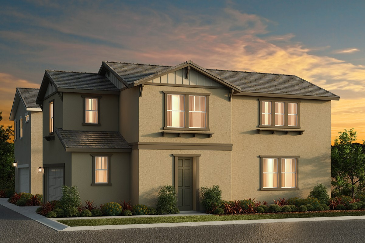 New Homes in Elk Grove, CA - Sheldon Terrace Plan 1691 B