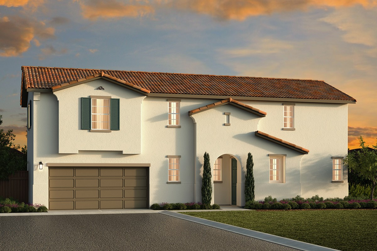 New Homes in Elk Grove, CA - Sheldon Terrace Plan 1853 A