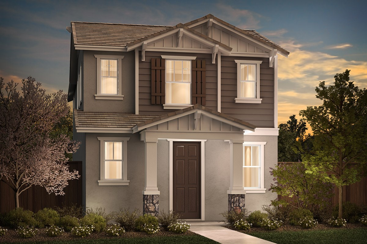 New Homes in Sacramento, CA - Stonybrook at The Hamptons Plan 1721 B