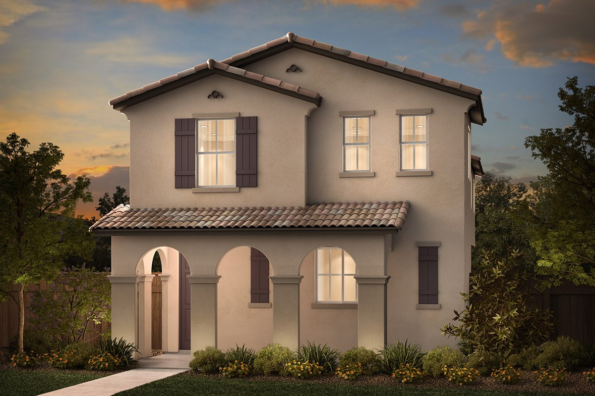 New Homes in Sacramento, CA - Stonybrook at The Hamptons Plan 2079 A