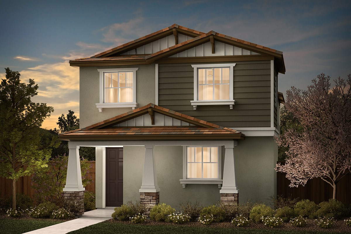 New Homes in Sacramento, CA - Stonybrook at The Hamptons Plan 2079 B