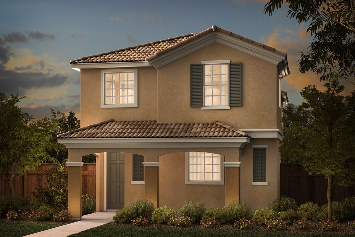 New Homes in Sacramento, CA - Stonybrook at The Hamptons Plan 2079 C